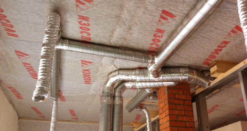 Установка вытяжной вентиляции в частном доме