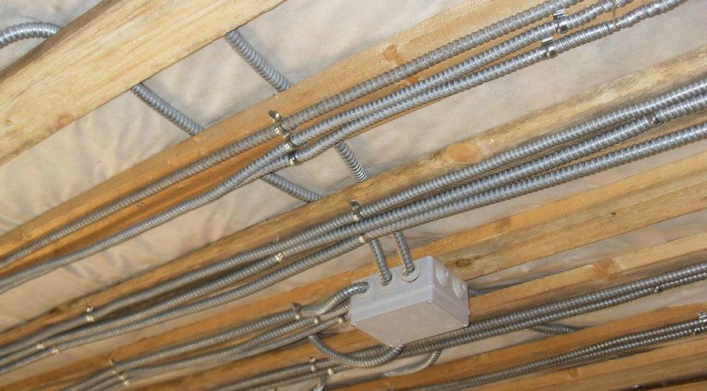 Электропроводка в кабель-каналах