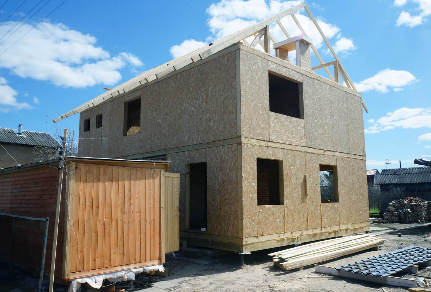 Строить дом своими руками из панелей