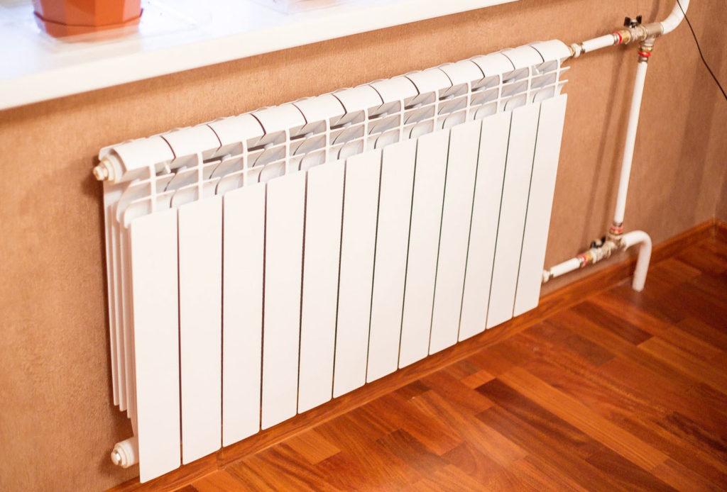 Типовой радиатор отопления