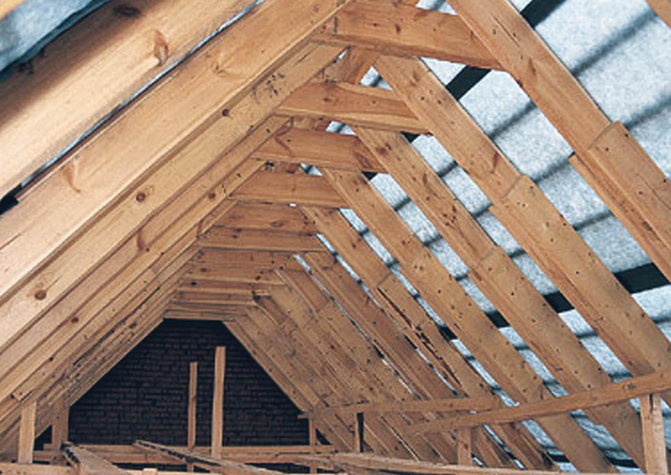 Замена стропил крыши дома своими руками