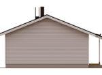 Финский дом с террасой и навесом для авто АЕ100