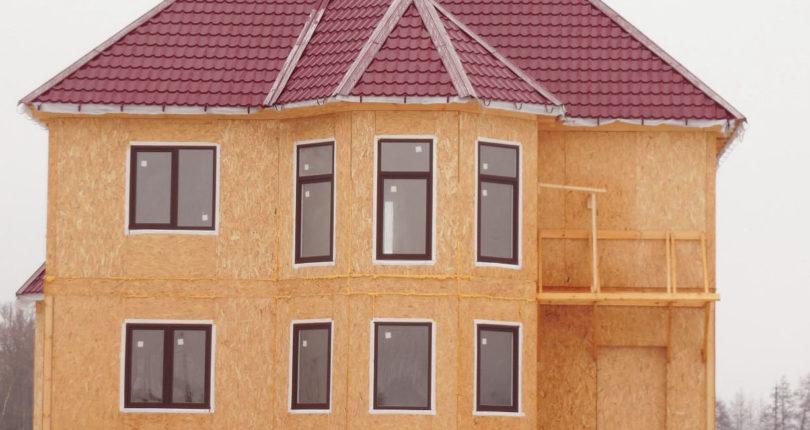 Каркасные дома из СИП-панелей