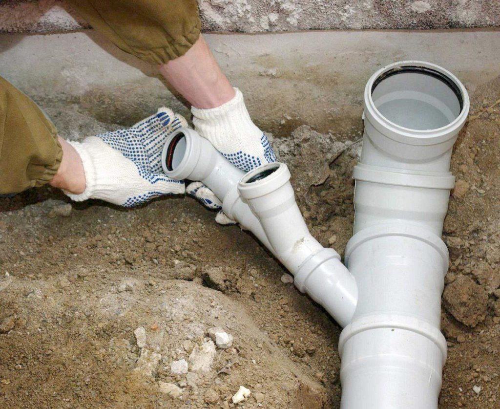Трубы пвх для водопровода монтаж