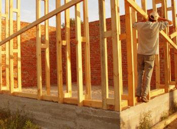 Укосины в строительстве каркасного дома