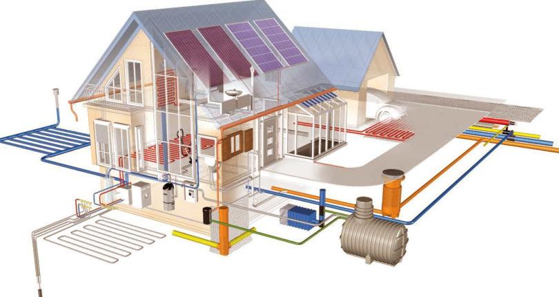Монтаж водоснабжения и канализации в частном доме