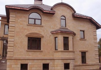 Облицовка фасада каркасного дома