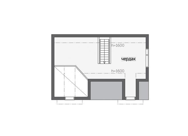 Дом с двумя мезонинами Т149