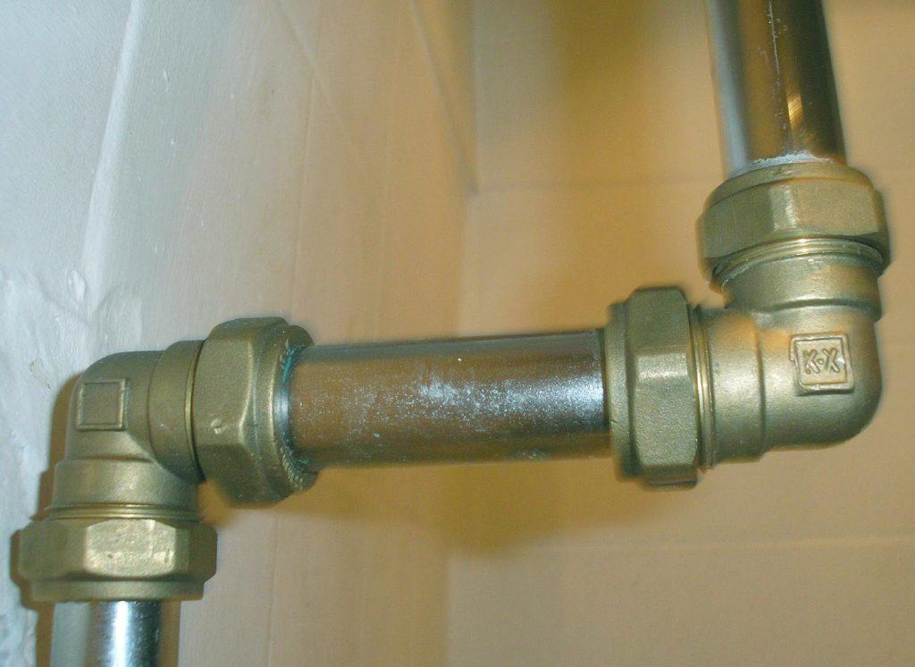 Типовое соединение труб