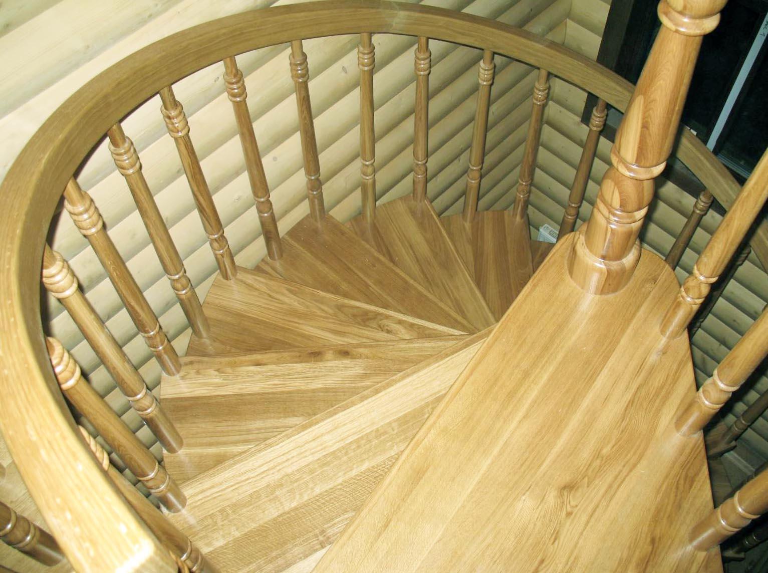 Деревянные резные винтовые лестницы своими руками 426