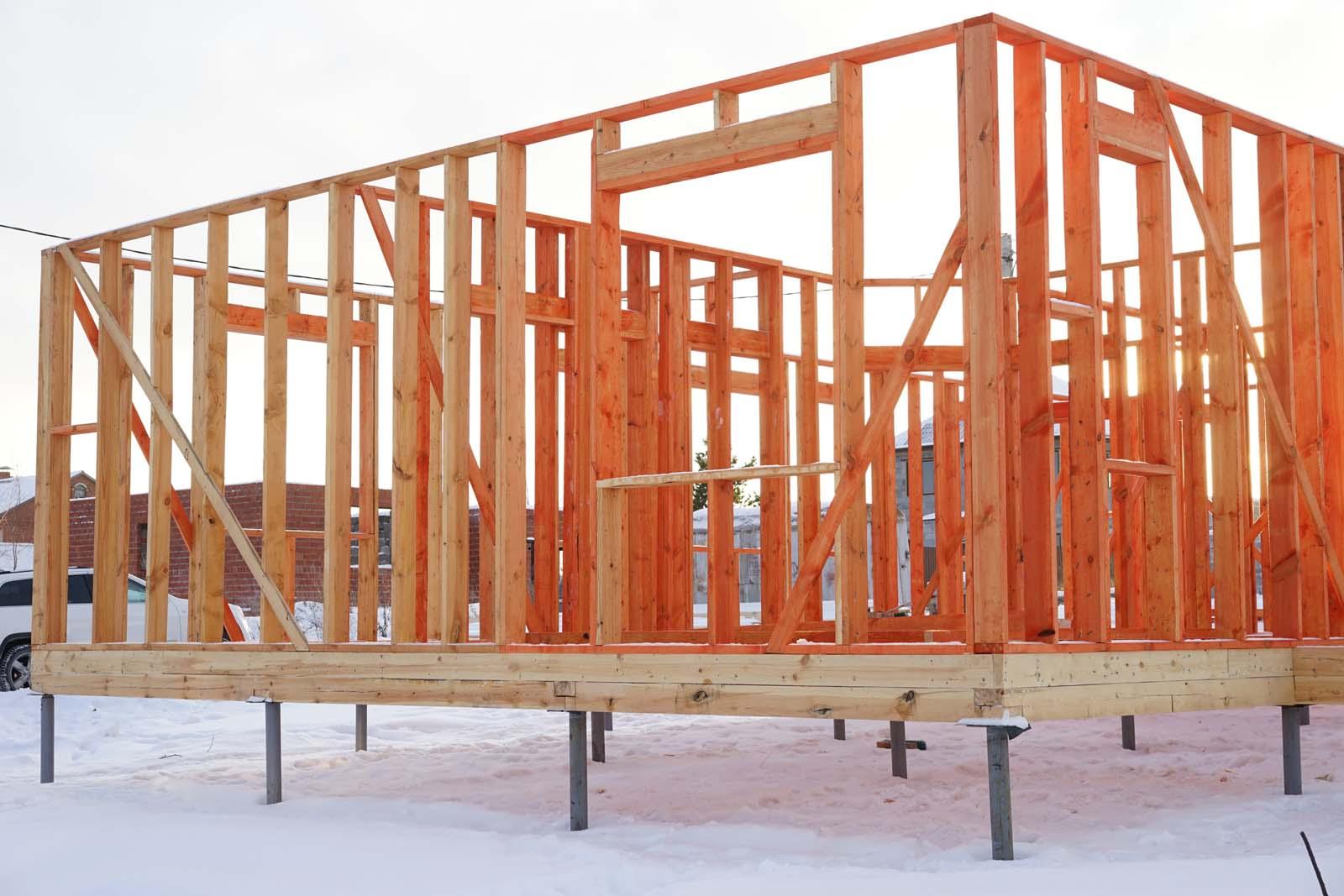 Как построить дом своими руками по каркасной технологии 75