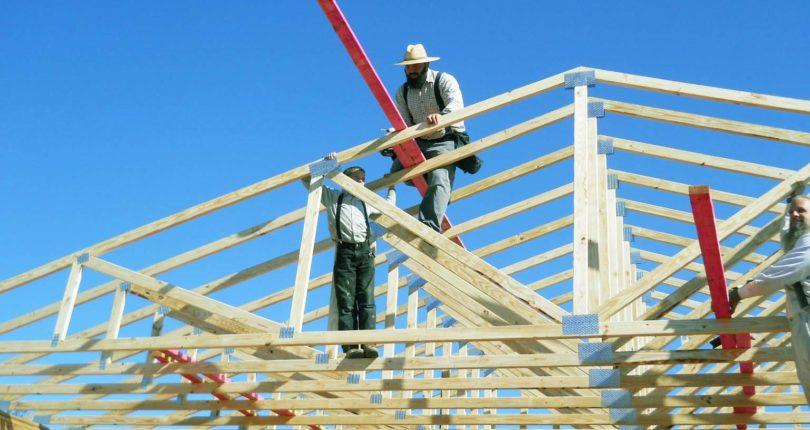 Изготовление и монтаж стропил для крыши