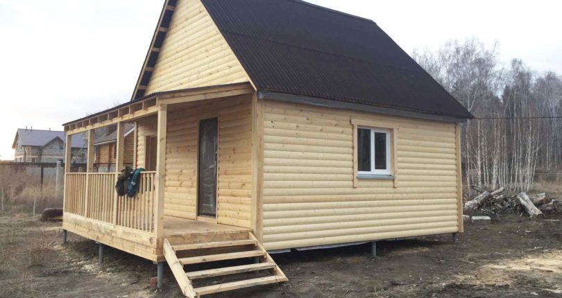 Каркасный дом – шаг за шагом