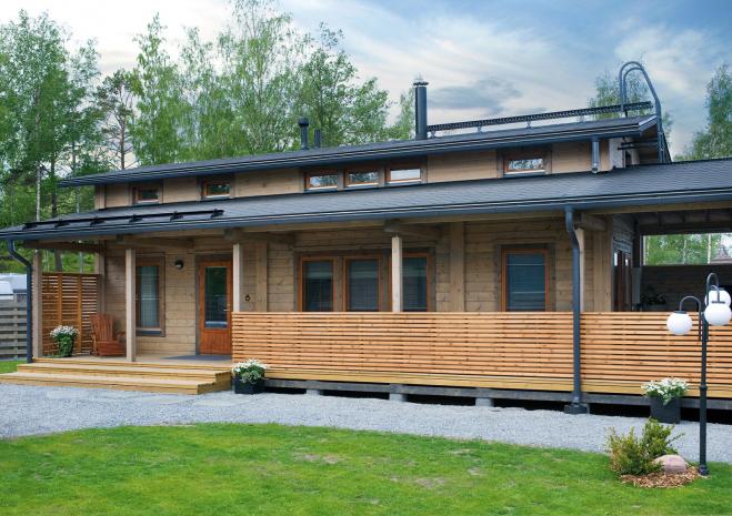 Финский садовый дом Т164