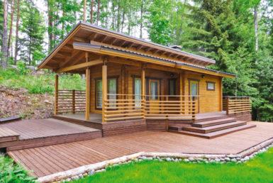 Финский садовый домик Т181
