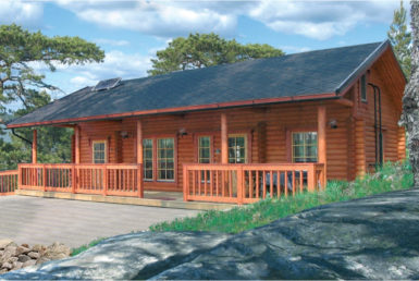 Садовый финский дом Т163