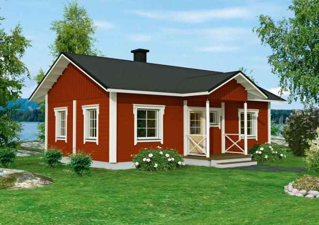 Дом в традиционном стиле Т156