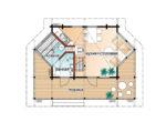 Садовый дом с мансардным этажом Т186