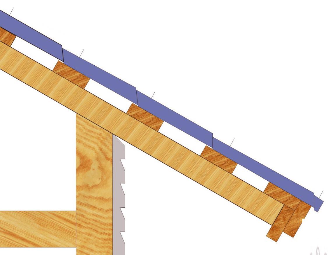 Металлочерепица схема укладки