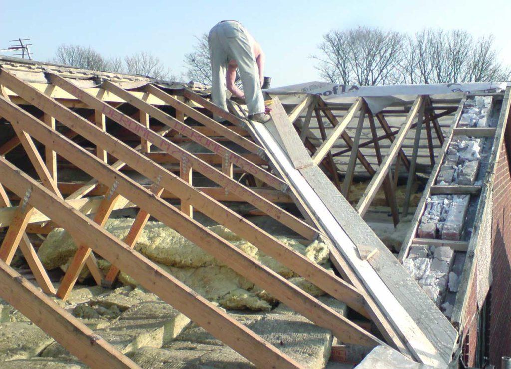 Крышу листовым металлом своими руками