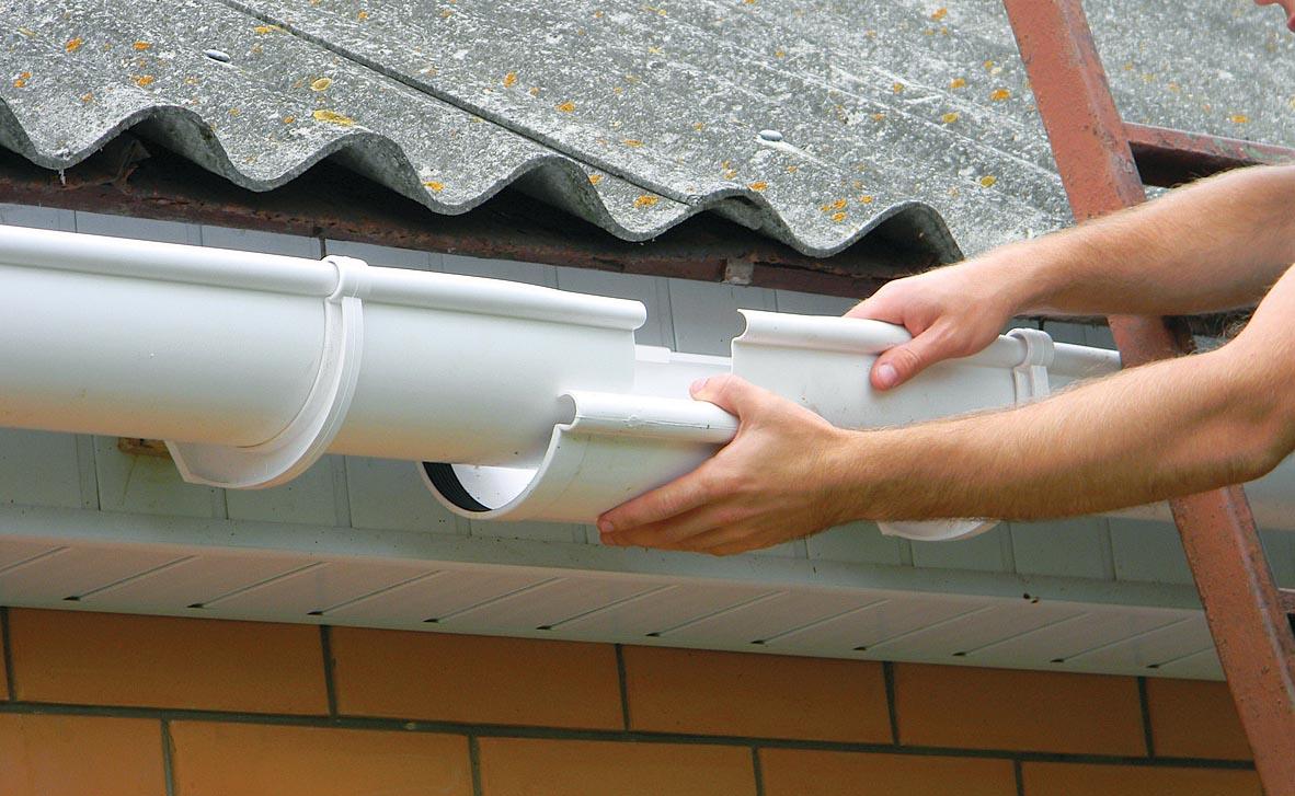 Сливная система крыши: материалы, монтаж 100