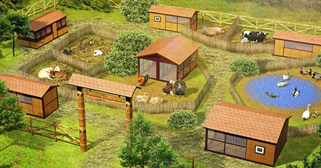 Как построить скотный двор своими руками 96