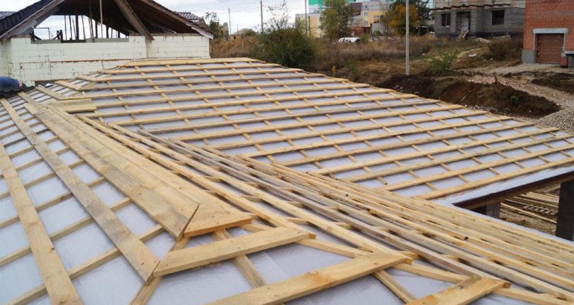 Обрешетка крыши под кровельные материалы