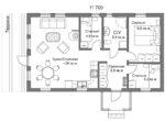 Дом за 2500 - Планировка