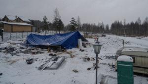 Стройка зимой - большие хлопоты