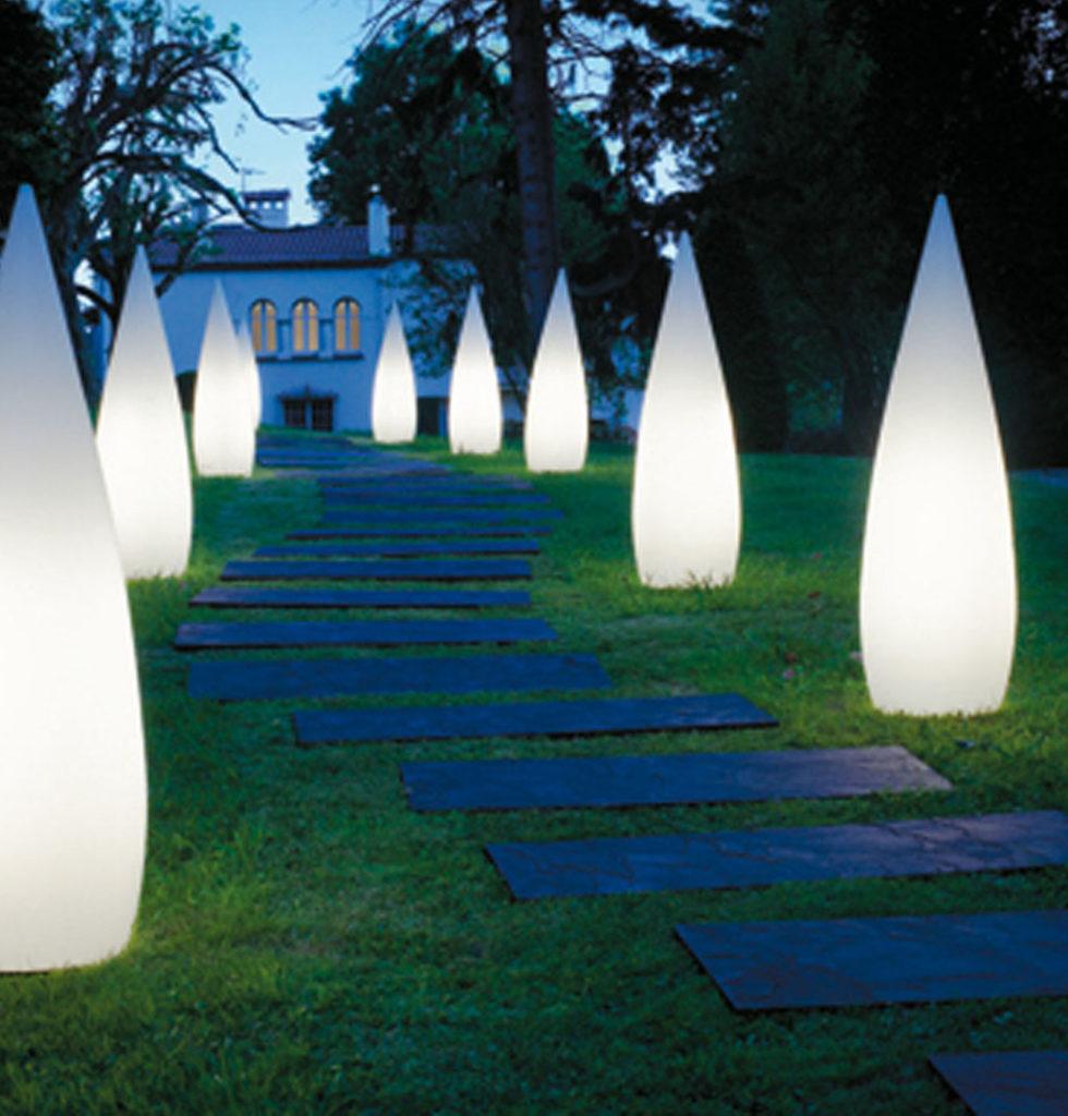 Маркировочное освещение садовых дорожек