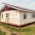гидро-ветрозащита каркасного дома