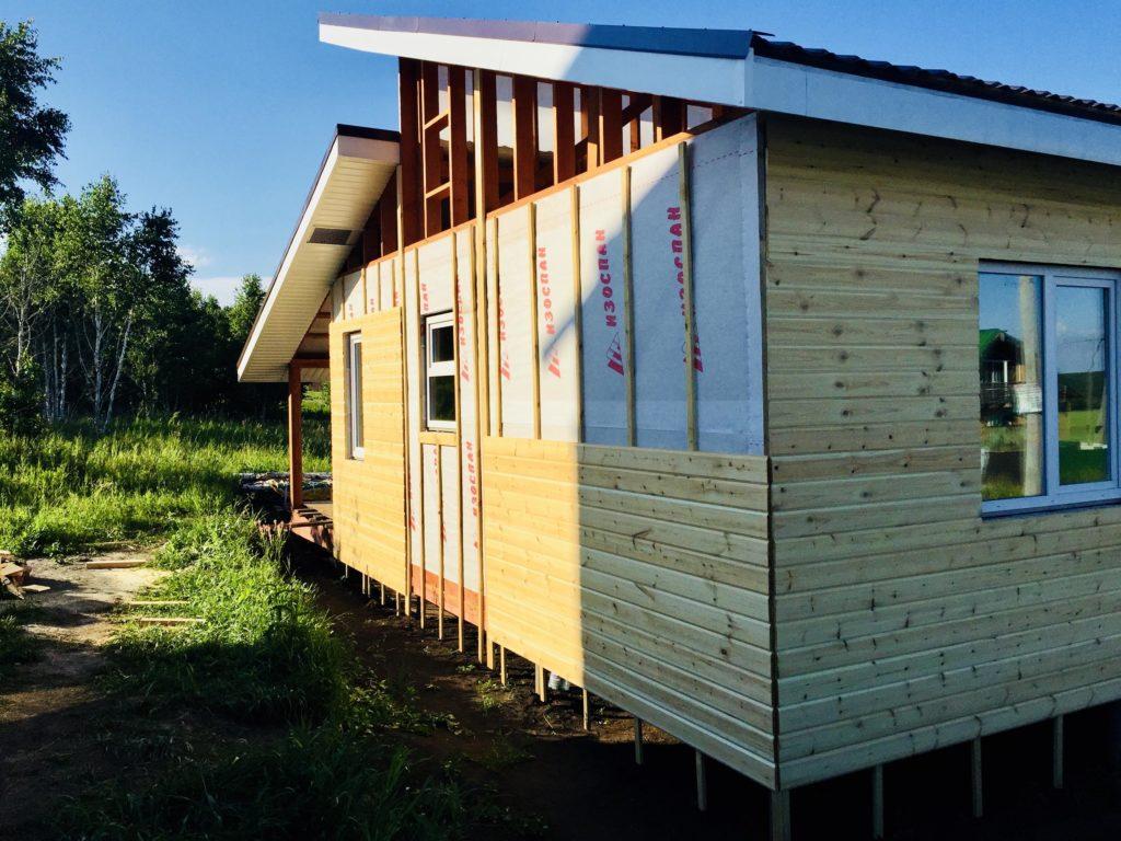 гидро-ветро защита каркасного дома