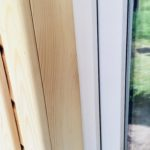 наличник окна каркасного дома