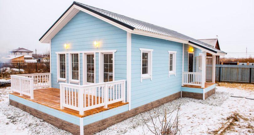 Каркасный дом по финскому проекту. Жить не тужить