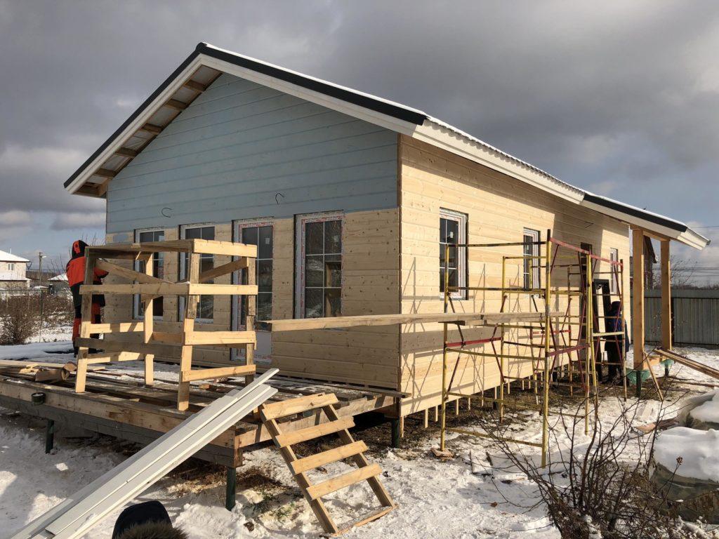 каркасный дом по финской технологии
