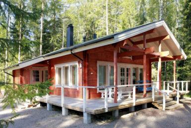 Мансардный дом с просторной террасой Т103