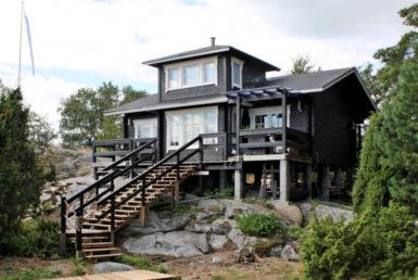 Финский дом с мезонином Т126