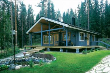 Дом с просторной террасой Т162