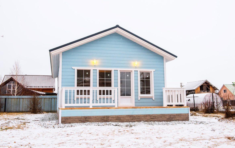 выставочный каркасный дом