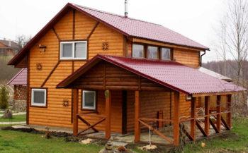 Вагонка и ее разновидности в отделке фасада домов